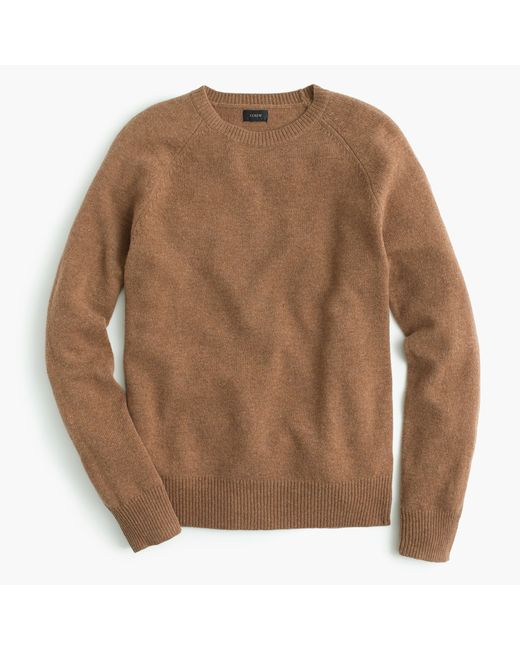 J.Crew | Brown Tall Lambswool Sweater for Men | Lyst