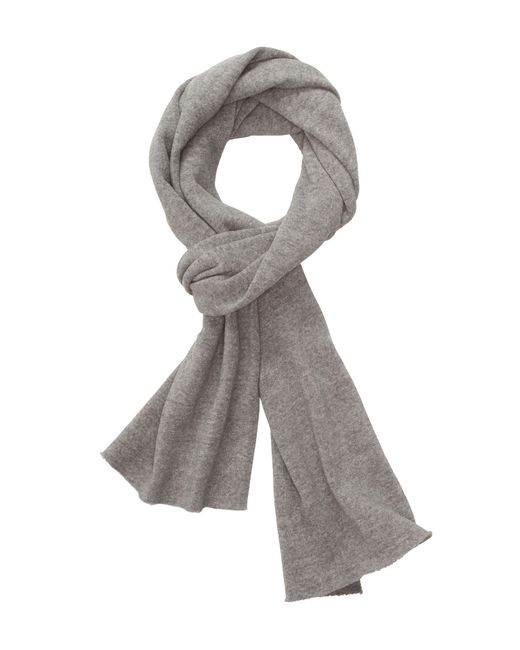 Alternative Apparel | Gray Slim Eco Fleece Scarf | Lyst