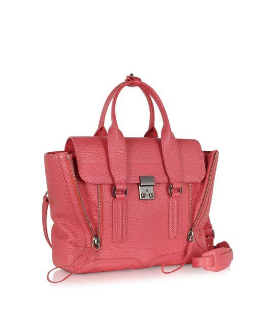 3.1 Phillip Lim Pink Raspberry Pashli Medium Satchel