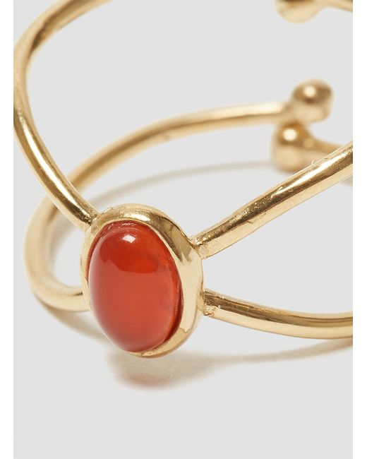 Medecine Douce   Red Milady Ring Gold   Lyst