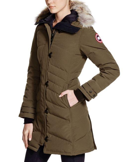Canada Goose Lorette Down Coat With Coyote Fur