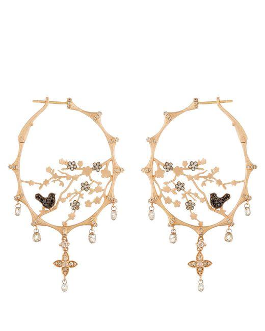 Annoushka | Metallic Dream Catcher Hoop Earrings | Lyst