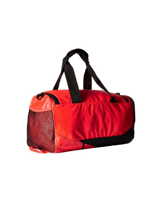 Nike Vapor Max Air Small Duffel In Orange Bright Crimson