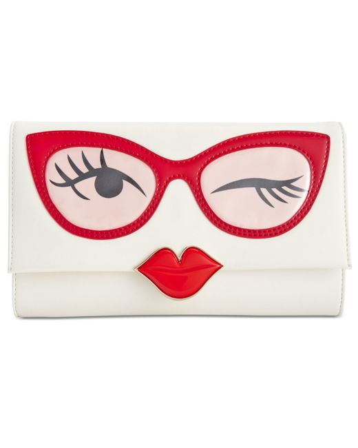 kate spade colored glasses frames clutch in