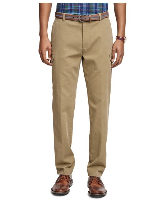 Brooks Brothers | Green Milano Fit Bedford Cord Cargo Pants for Men | Lyst