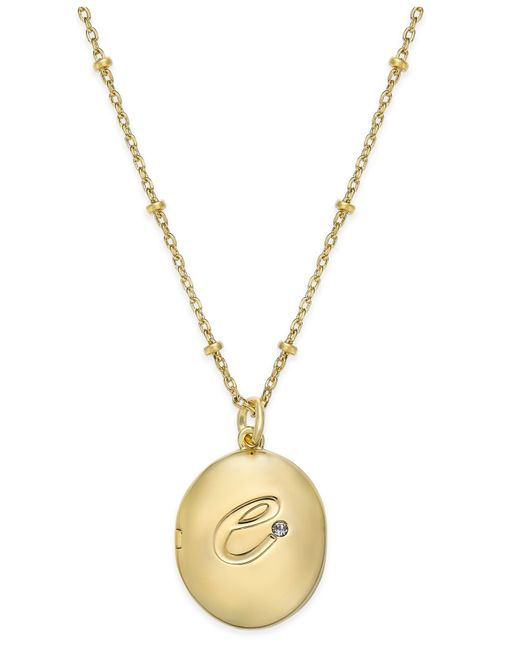 Kate Spade | Metallic 'state Of Mind' Pendant Necklace | Lyst