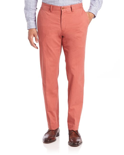 Polo Ralph Lauren | Pink Suffield Stretch Cotton Pants for Men | Lyst