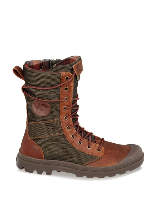 palladium pa tactical boots in brown save 31 lyst