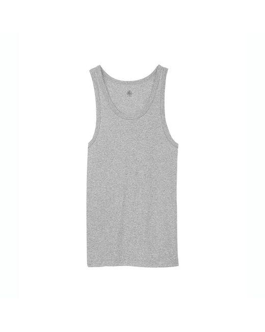 Petit Bateau | Gray Men's New Cotton Tank Top for Men | Lyst