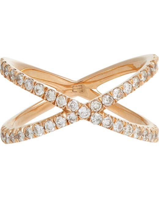 Eva Fehren   Metallic Shorty Ring Size 8   Lyst