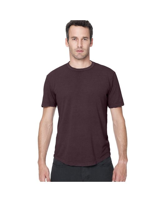James Perse | Purple Clear Jersey Crew for Men | Lyst