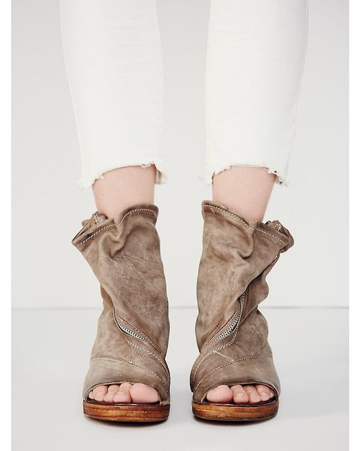 Free People | Natural Verona Slouch Boot | Lyst