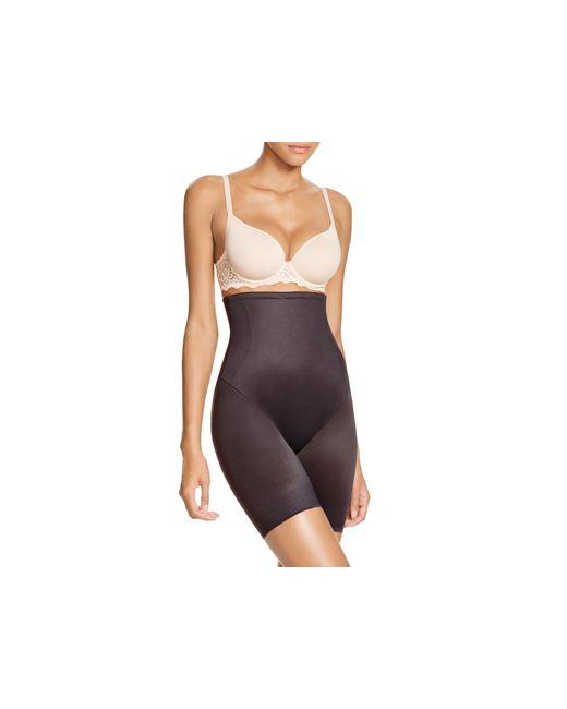 Tc Fine Intimates | Black Hi-waist Control Shorts #4099 | Lyst