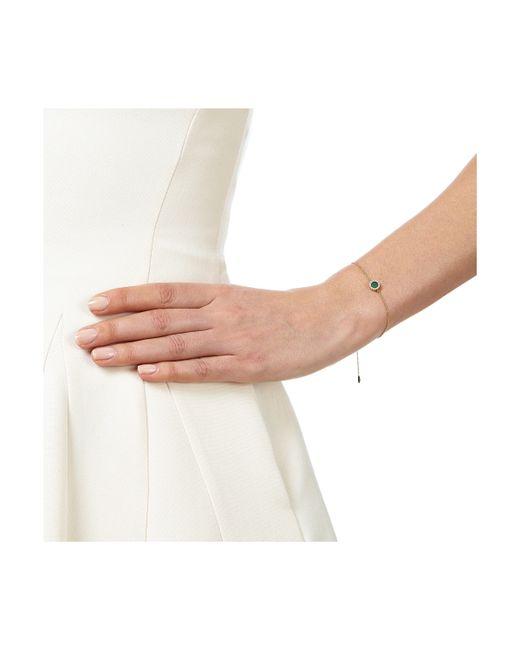 Monica Vinader | Metallic Naida Mini Circle Bracelet | Lyst