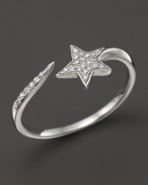 KC Designs | Diamond Star Ring In 14k White Gold | Lyst
