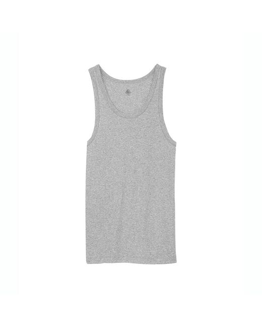 Petit Bateau | Gray Men's New Cotton Tank Top for Men | Lyst