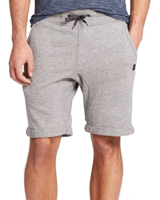 Madison Supply | Gray French Terry Sweat Shorts for Men | Lyst
