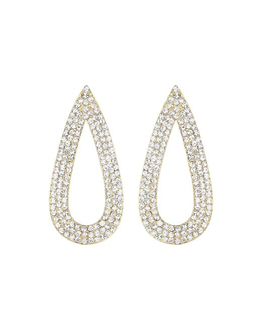 Mikey | Metallic Flat Eclipse Marquise Earring | Lyst