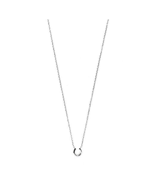 Estella Bartlett | Metallic Diamantã© Horseshoe Necklace | Lyst