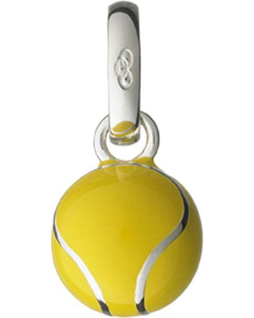 Links of London | Metallic Wimbledon Tennis Ball Sterling Silver Charm | Lyst