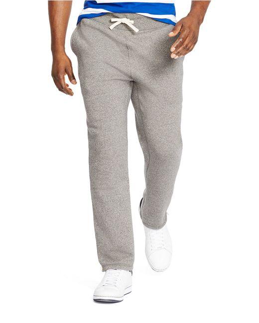 Polo Ralph Lauren | Gray Classic Fleece Drawstring Pants for Men | Lyst