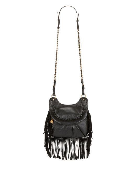Aimee Kestenberg | Black Holly Fringed Leather Crossbody | Lyst