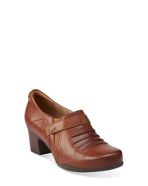 Clarks | Brown 'Rosalyn Nicole' Pump | Lyst