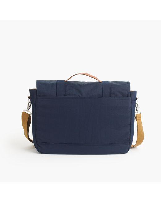 J.Crew | Blue Harwick Messenger Bag for Men | Lyst