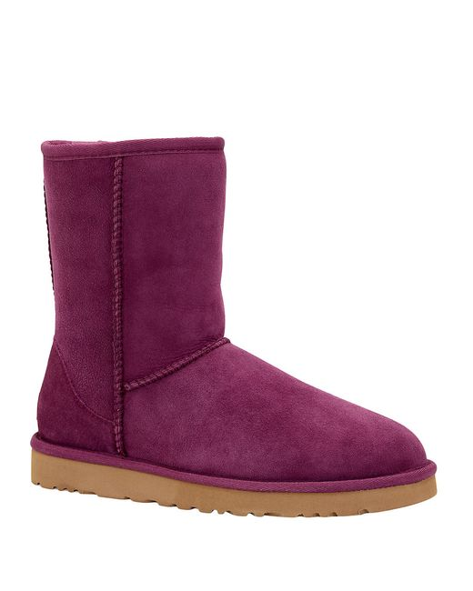 Creative Australian UGG Classic SHORT Violet PURPLE Bling Crystals BOOTS Womens