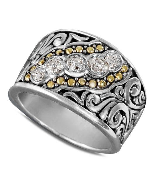 Effy Diamond Swirl Ring