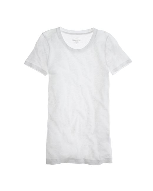 J.Crew   White Vintage Cotton T-shirt   Lyst