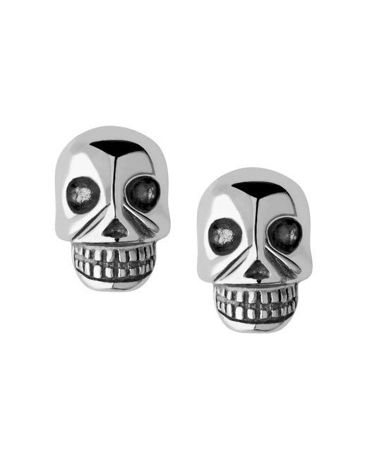 Links of London | Metallic Mini Skull Stud Earrings | Lyst