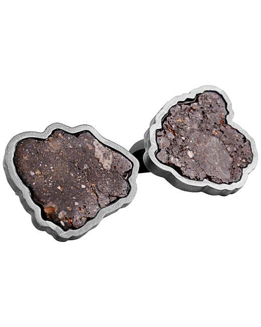Tateossian Metallic Lunar Pura 18 Karat Gold Cufflinks, Limited Edition for men