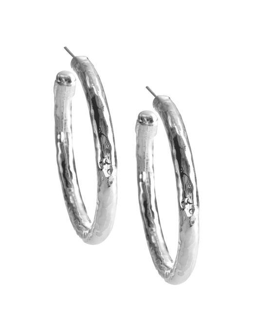 Ippolita   Metallic Glamazon Clip Hoop Earrings   Lyst