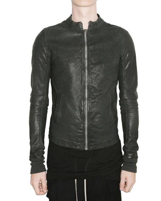 Rick Owens | Black - One Button Jacket - Men - Cotton/cupro/viscose - 48 for Men | Lyst