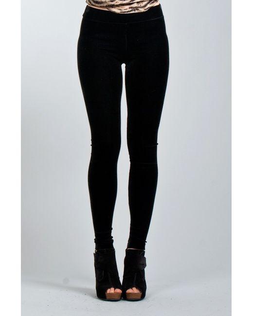 Vince | Black Front-pleat A-line Skirt | Lyst