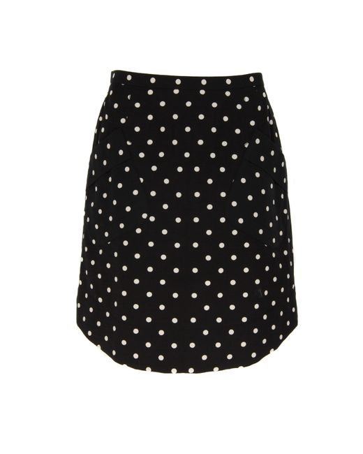 Marc Jacobs | Black Long Box Pleat Skirt | Lyst