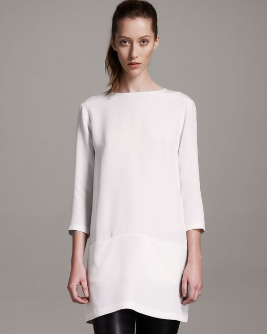 The Row | White Marina Dress | Lyst