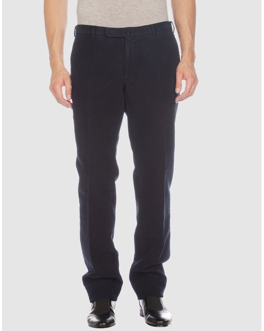 Incotex | Black Casual Pants for Men | Lyst