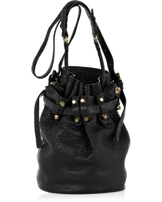 Alexander Wang | Black Women's Diego Pebble Leather Bag | Lyst