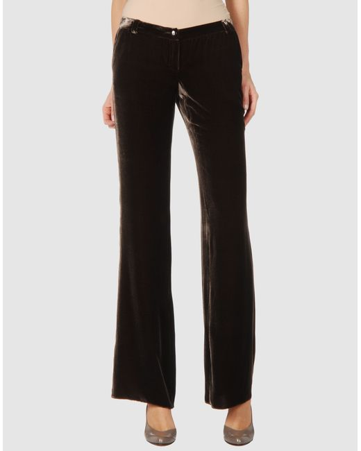 Emporio Armani | Black Fancy Javanese Pants | Lyst