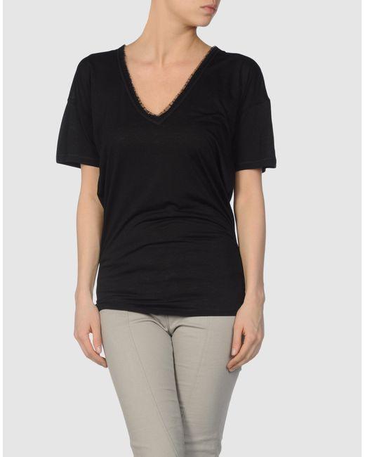 DSquared² | Black Short Sleeve T-shirt | Lyst