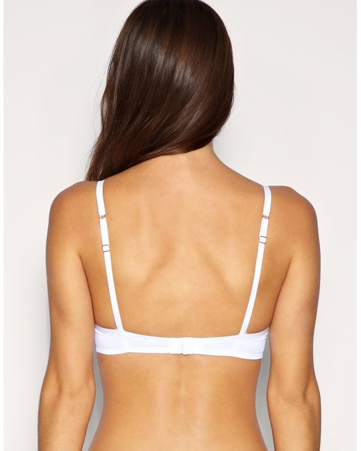 Ultimo   White A D Icon Bra   Lyst