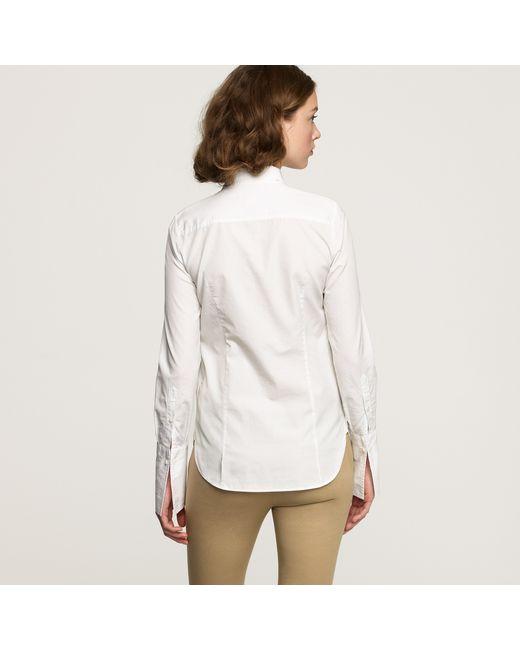 Thomas mason boy shirt in white lyst for Thomas mason dress shirts
