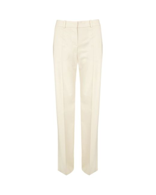 Chloé | White Cropped Trousers | Lyst