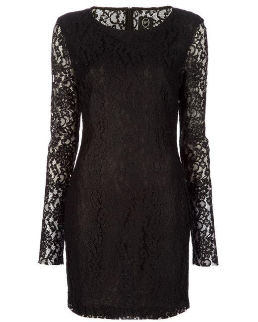 McQ Alexander McQueen | Black Lace Dress | Lyst