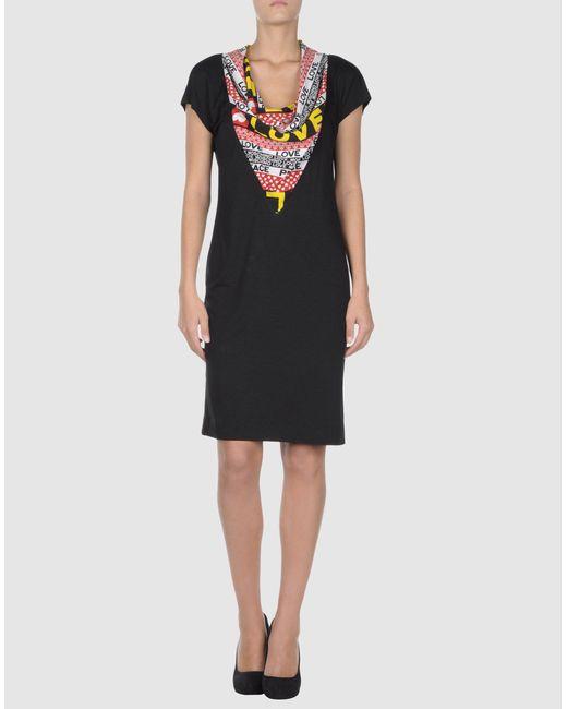 Love Moschino   Black Knee-length Dress   Lyst
