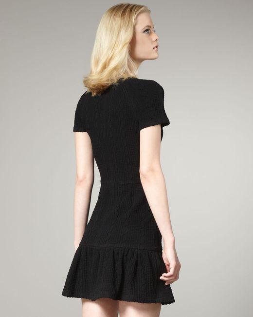 Opening Ceremony | Black Short Dress | Lyst