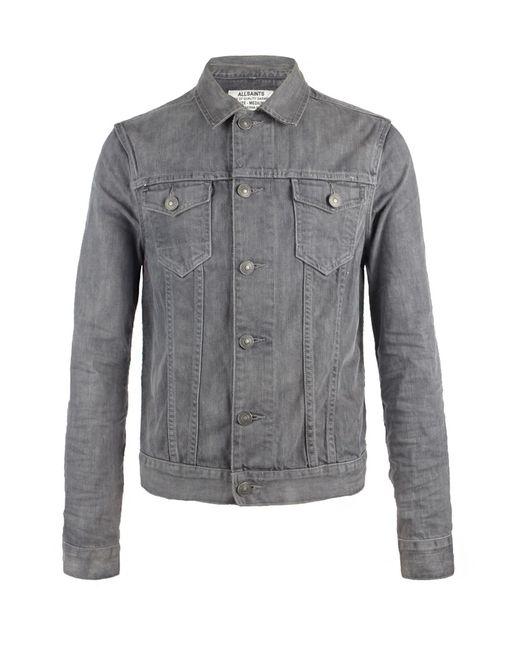 AllSaints   Gray Slurry Jacket for Men   Lyst