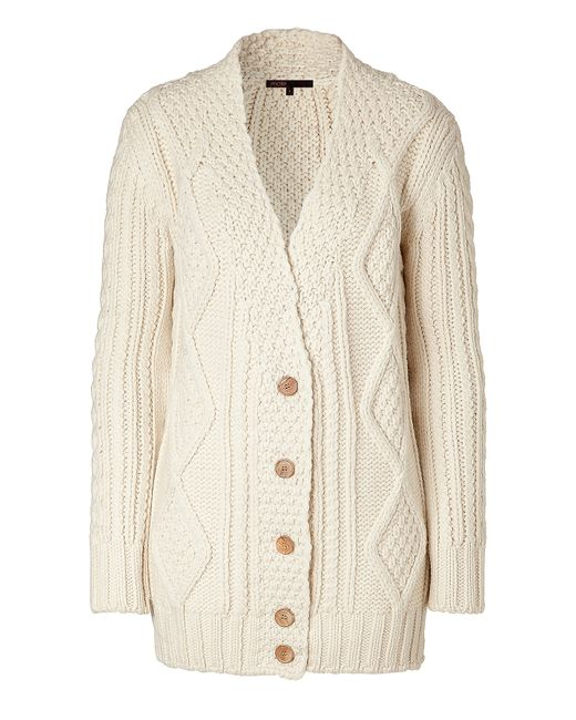 Christophe Sauvat | Natural Cotton Dress With Lace | Lyst